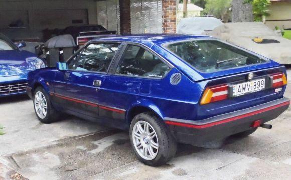 1985 Alfa Romeo Alfasud Sprint Veloce