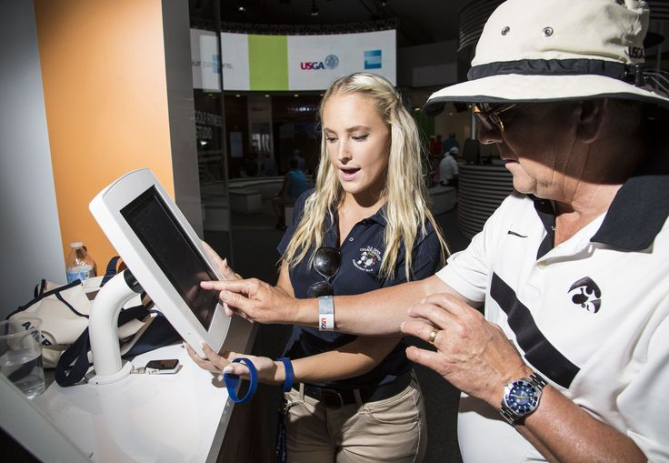 American Express Woos Golfers At The U.S. Open using Armodilo(rt) Surface Mounts