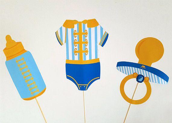 Prinz Baby Shower Mittelpunkt königliche Prinz Baby von CraftyCue
