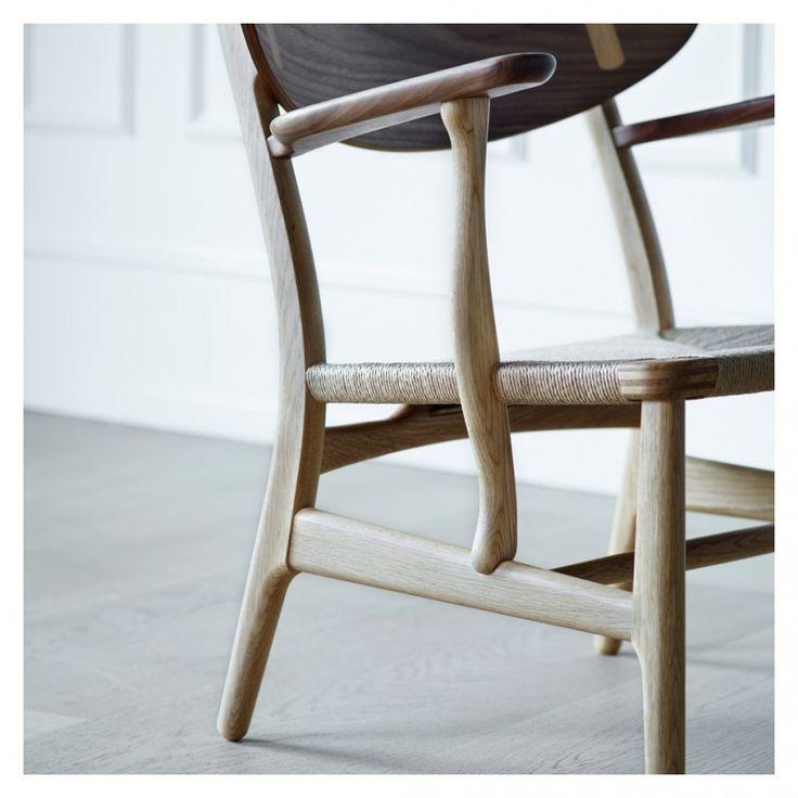 CH22 Chair Walnut U0026 Oiled Oak