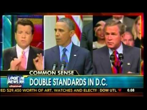 Video: Double Standards In DC. --  Apr 27, 2013 -- Neil Cavuto dishes out a dose of common sense… - ***Comparing Bush's Rights & Wrongs to Obama's Wrongs and Wrongs, and More Wrongs...