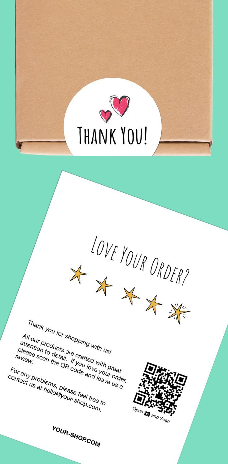 Get The Thank You Label Review Card Bundle From Craftycode