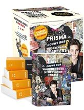 Prisma pocketwoordenboekenpakket, 4 + 1 gratis!  Het perfecte starterspakket voor middelbare scholieren, inclusief speciale Douwe Bob editie Nederlands-Engels!       Douwe Bob met Duits 5 titels N-E-D http://www.bruna.nl/boeken/prisma-pocketpakket-douwe-bob-met-duits-5-titels-n-e-d-9789000330058