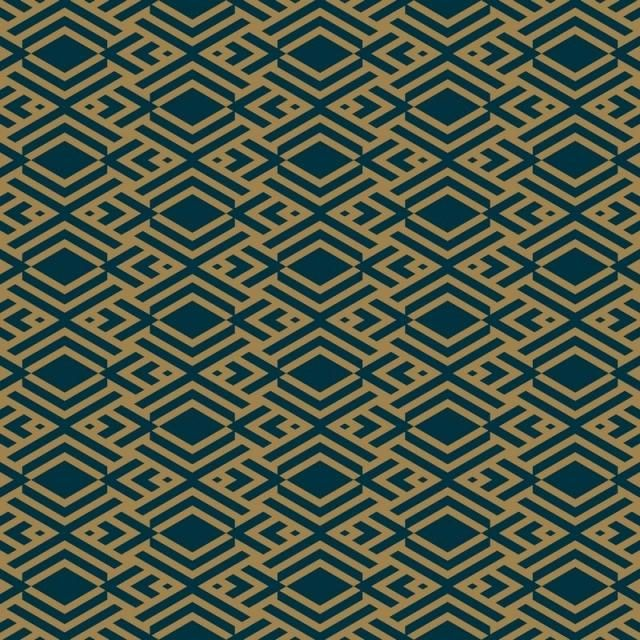 Abstract Geometric Pattern With Lines Rhombuses A Seamless Vector