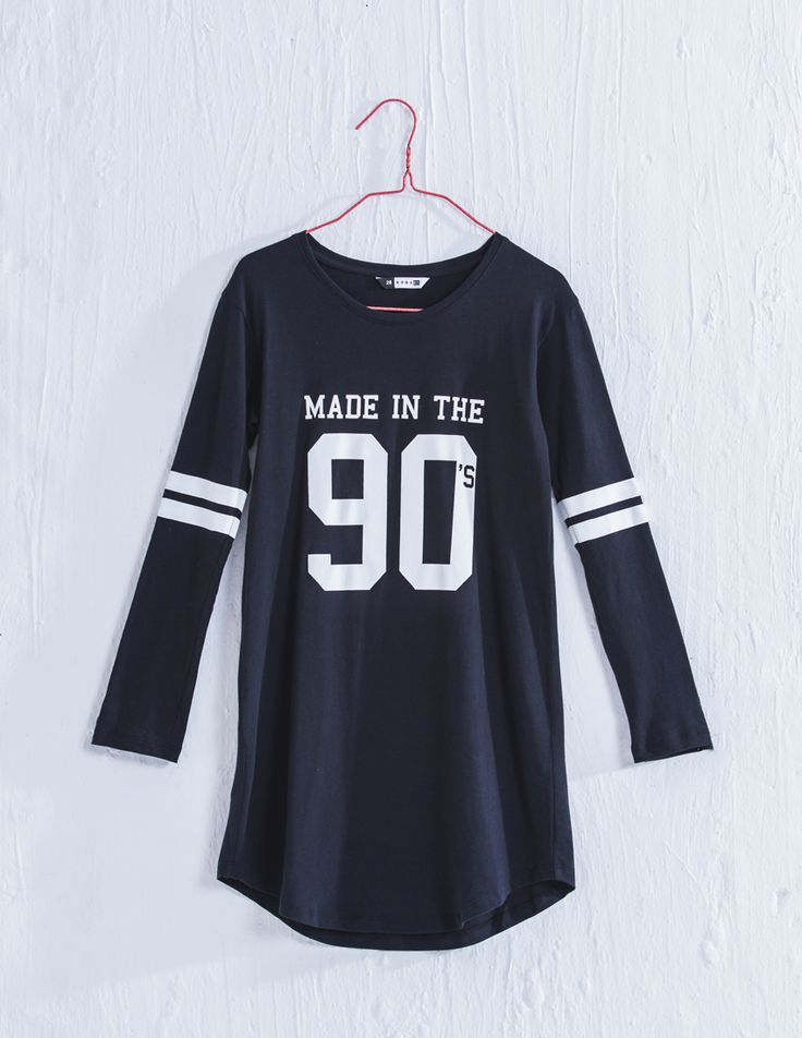This T shirt dress is so modern and cumfortable i might just sleep i n it