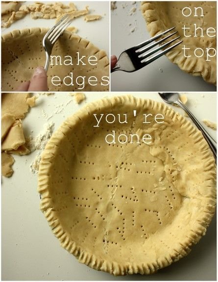 BEST PIE CRUST   mix together:  4 cups flour, 1 3/4 cup shortening, 2 tsp salt    add a mix of: 1/2 cup ice water, 1 TBL white vinegar, 1 egg