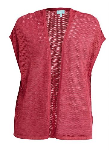 Perfect for Spring!  This open knit cardie from Blue Illusion is $149.99