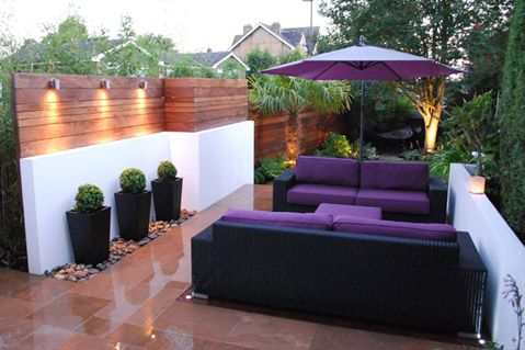 Contemporary Garden Scheme - www.thelandscapedesignstudio.co.uk