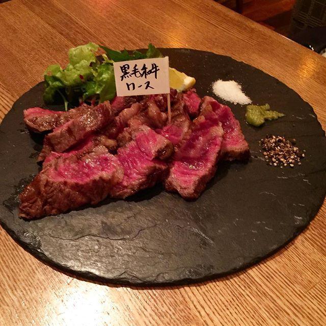 熟成肉サーロインステーキ😋 #肉 #ステーキ#熟成肉 #サーロイン #サーロインステーキ #steakhouse #steaks #yammy #agedbeef  #aged #agedmeat #agedsteak #meat #dinner  #ワインに合う