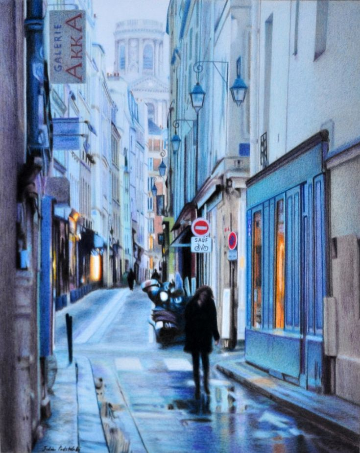 Paris en hiver - Julie Podstolski