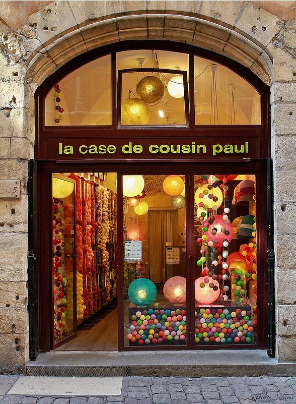 La case de Cousin Paul  Et hop, 3 jolies guirlandes, 3!