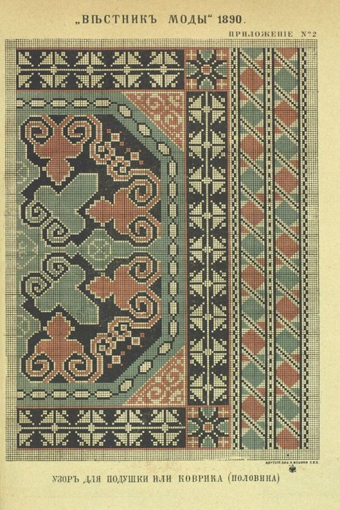 Gallery.ru / Фото #17 - Вестник моды 1890 - somerset24