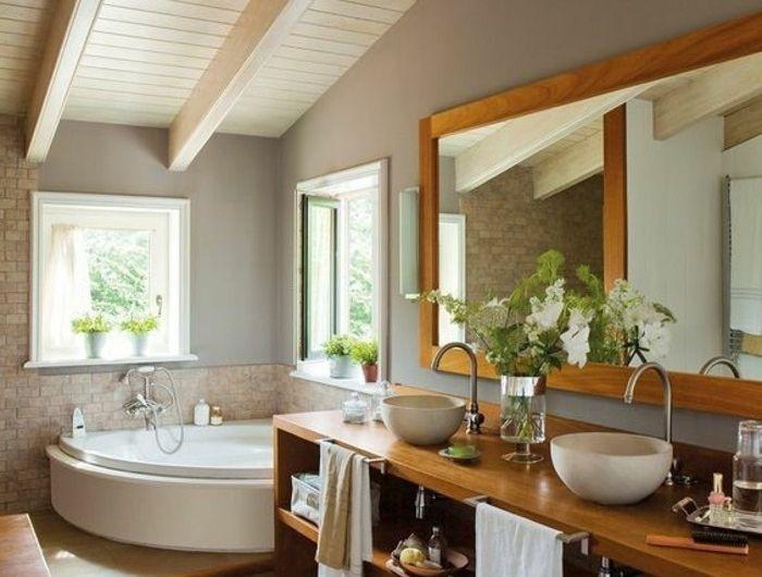 Les 25 meilleures id es de la cat gorie salle de bain zen sur pinterest salle de bains design - Decoratie salle de bain zen bambou ...