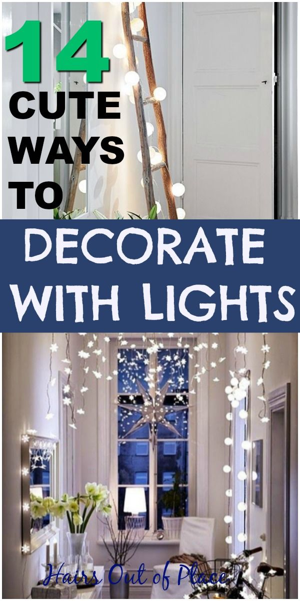 14 Ways To Light Up Your Life Small Spaces Cheap Wall Decor