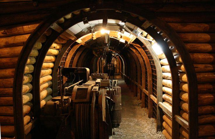 Galleria sotterranea. Museo del Carbone, Grande Miniera di Serbariu, Carbonia CI