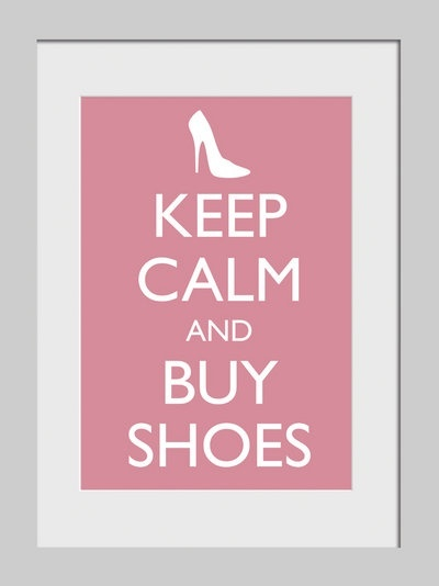 haha! Hello, my name is Emily and I am a shoe addict!!