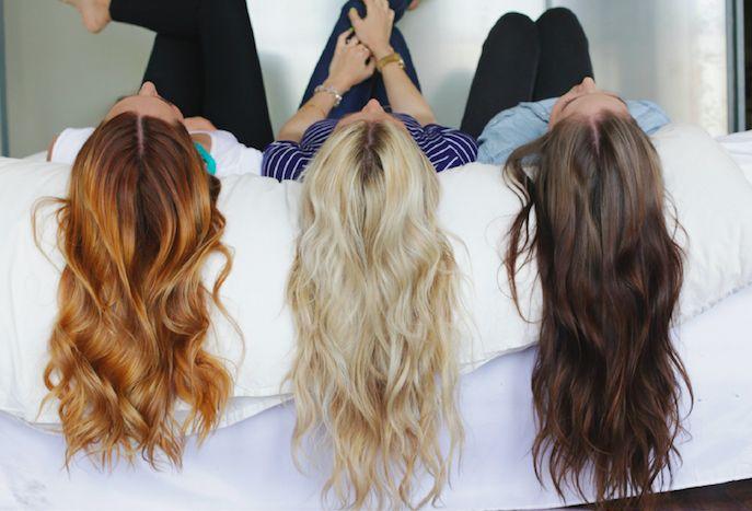 картинки подруг для длинных волос качестве презента