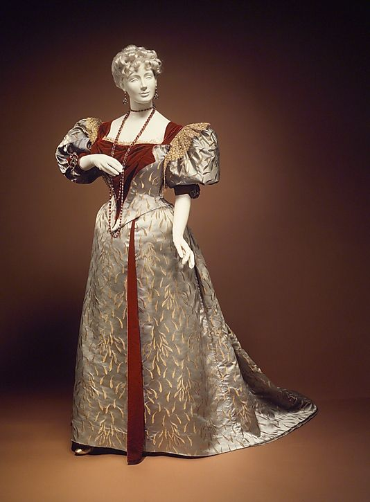 Evening Ensemble House of Worth 1893  The Metropolitan Museum of Art
