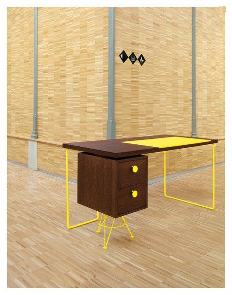 Bureau Spoutnik by Caroline Halka Duveau and Lionel Duveau for Ultra Maison d'Edition de Design