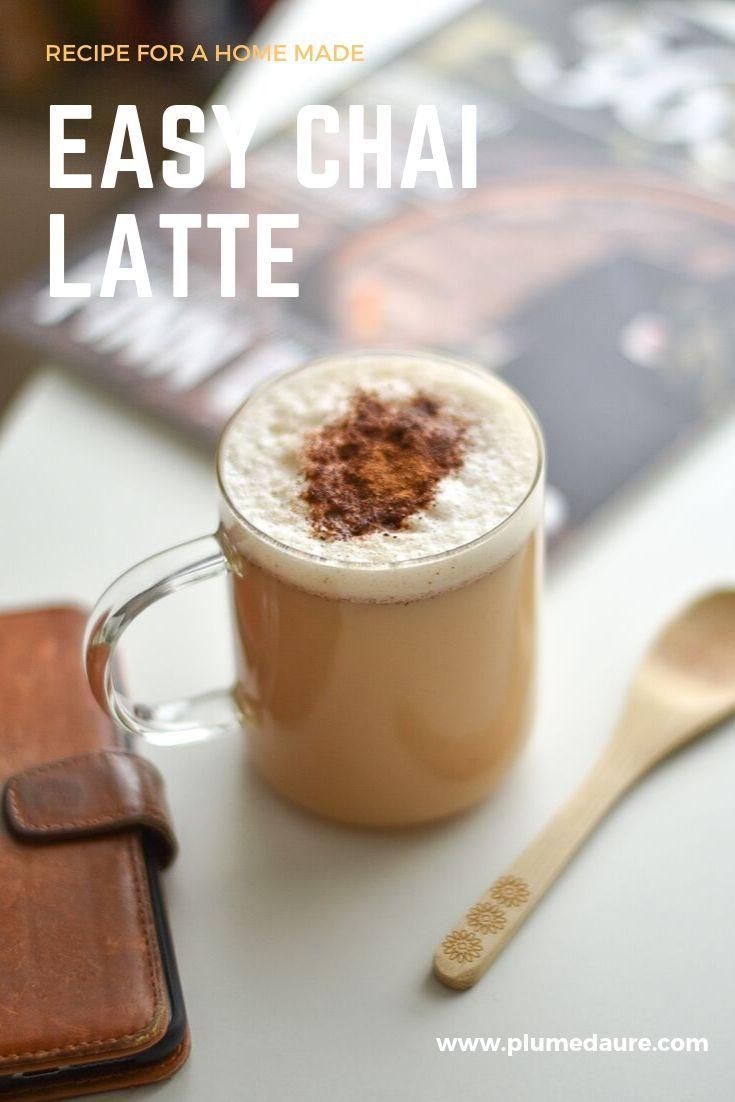 Easy Chai Latte Recipe Plumedaure Chia Tea Latte Recipe Easy Chai Latte Recipe Chai Tea Recipe