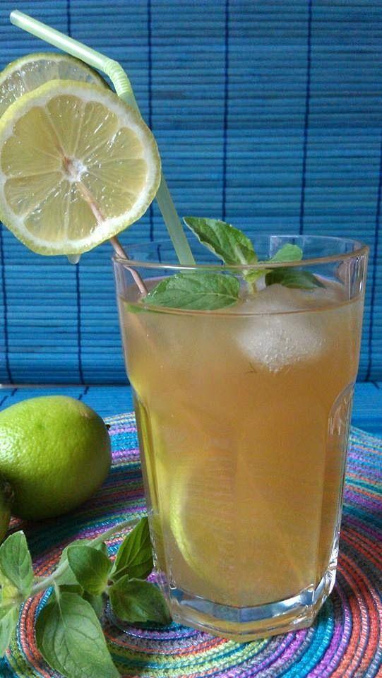 Insane in the Kitchen: Grüner Eistee mit Limetten und Zitronen