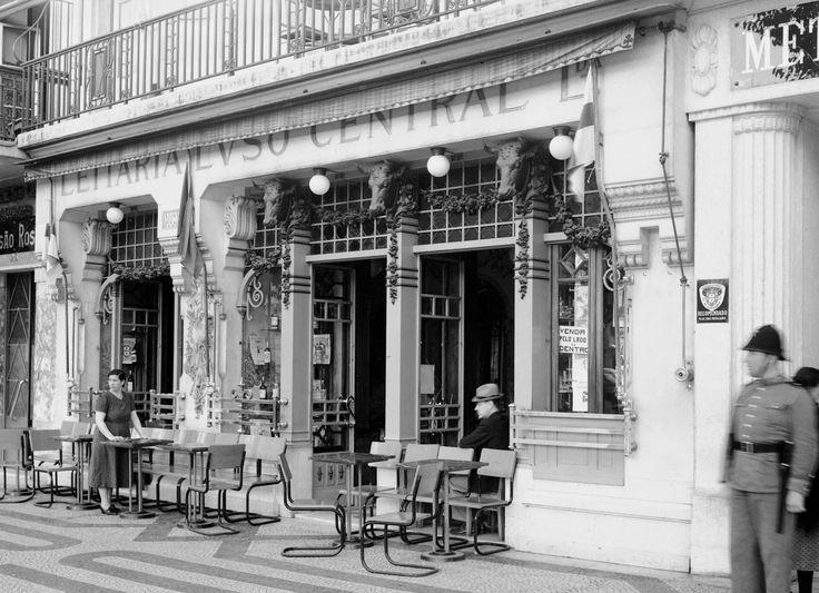 Rossio, Leitaria Luso Central, anos 40