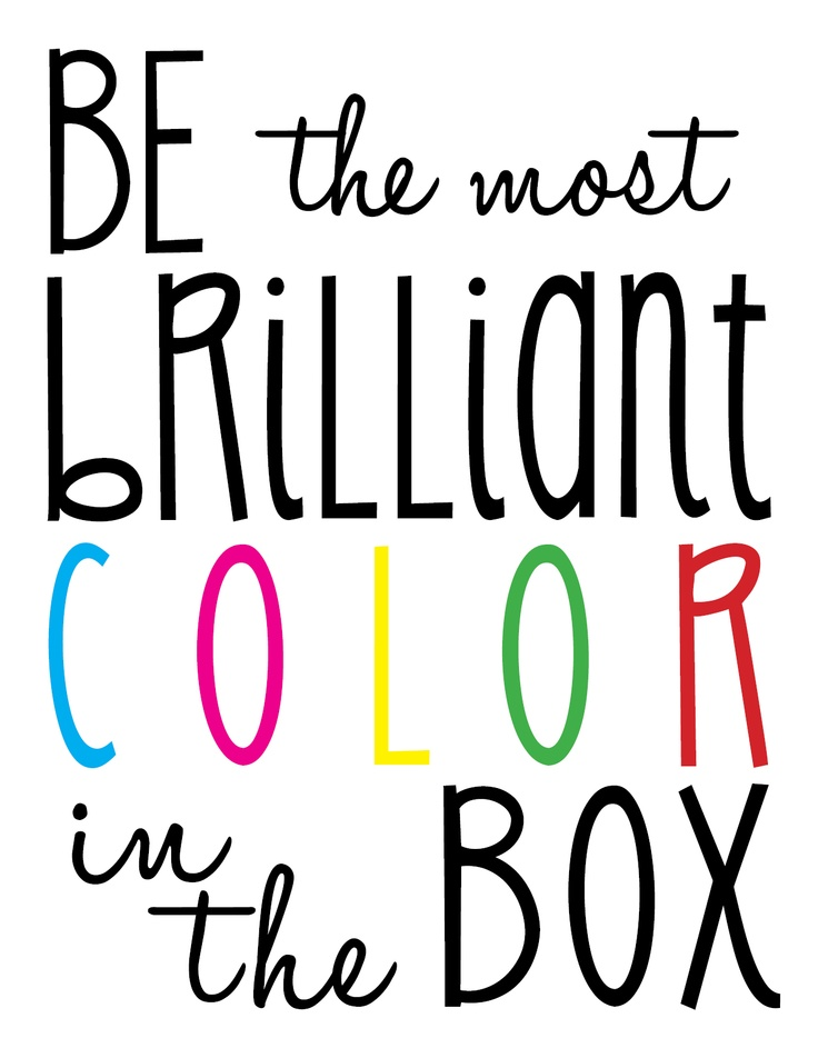 Color your day happy today!