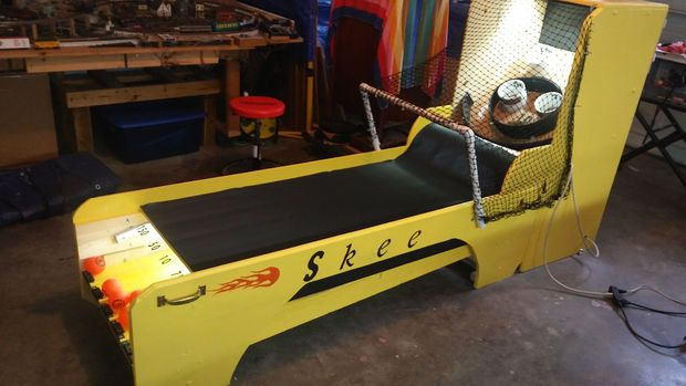 Skee Ball Machine   Skee ball, Workshop, Projects