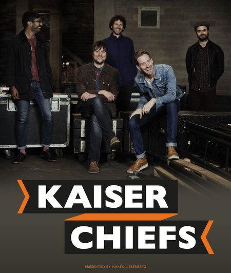 Tickets KAISER CHIEFS Tour 2014 | Berlin und Hannover ab Mittwoch im VVK | neues Album Ende März