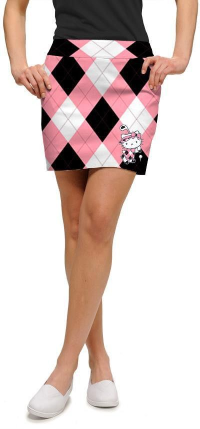 Loudmouth Golf skorts are fun! A cotton-spandex blend, LM skorts are cute, stylish and flattering. Perfect for a round of golf or a day with the girls. Fabric * 97% cotton, 3% spandex * Cotton-spandex