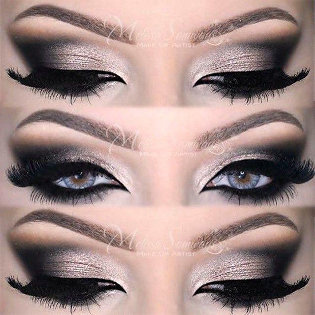 Sexy & Dramatic Smokey Eyes