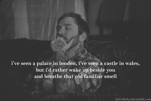 City and Colour - Dallas Green - Comin' Home Lyrics- could he be a better lyricist........