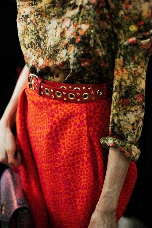 Outfit detail from Vivienne Westwood SS14. http://www.dazeddigital.com/fashion/article/17169/1/richard-nicoll-ss14