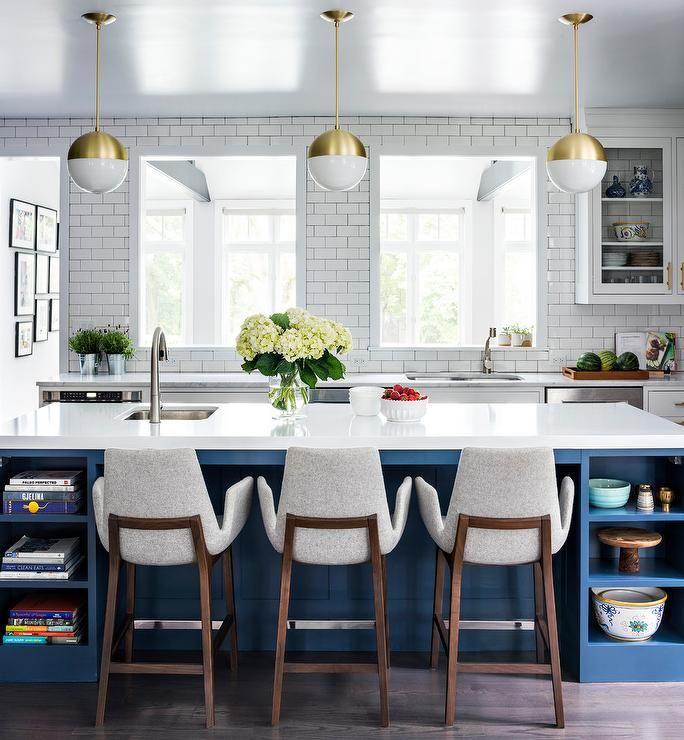 Benjamin Moore Blue Kitchen: 2252 Best Kitchens Images On Pinterest