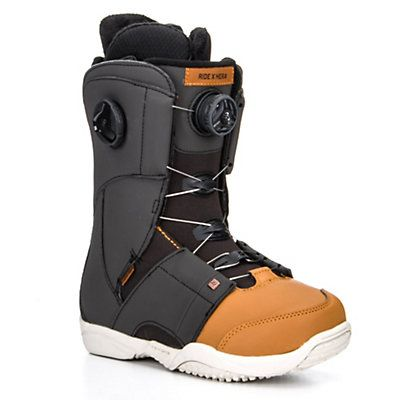 Ride Hera Boa Coiler Womens Snowboard Boots 2016, Black-Tan