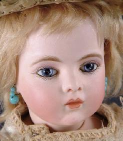 bru bebe | an all original bru jne bebe 4 having light blue paperweight eyes a ...