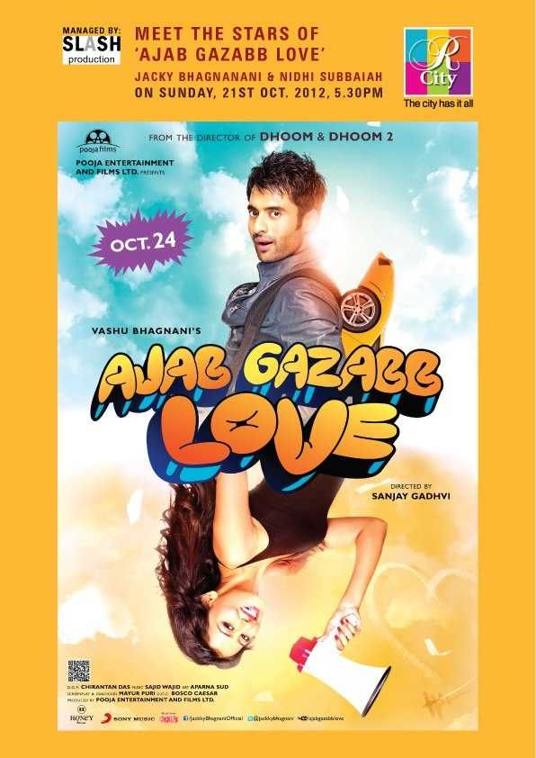 Meet the stars of Ajab Gazabb Love Jackky Bhagnani & Nidhi Subbaiah on 21 October 2012 at R City Mall, Ghatkopar | Events in Mumbai | MallsMarket