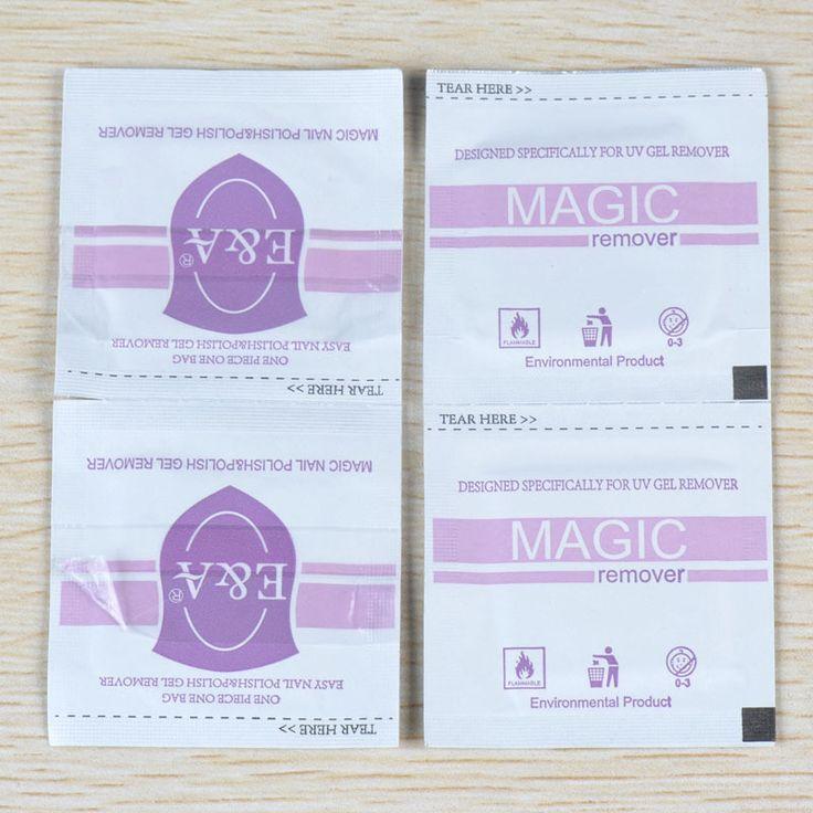 1057 10 Pcs Nail Art polonês Gel laca fácil removedor folha Wraps prego magia polonês Gel UV Remover ferramentas de unhas alishoppbrasil