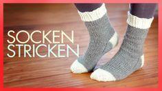 Socken stricken - Anleitung