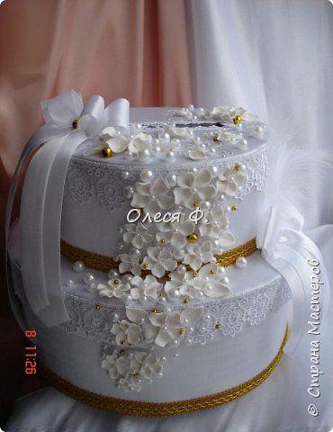 """Свадебный комплект в стиле """"Gatsby"""" . В бело-золотом исполнении, с перьями.  фото 6"""