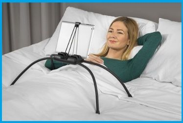 Here is the top Best iPad Stand for Bed and Adjust iPad on bed for rest your hand when you are in bed or sofa Customizable stand features relax to all.