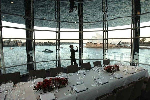 Big night out ... Quay Restaurant at the Overseas Passenger Terminal, The Rocks.