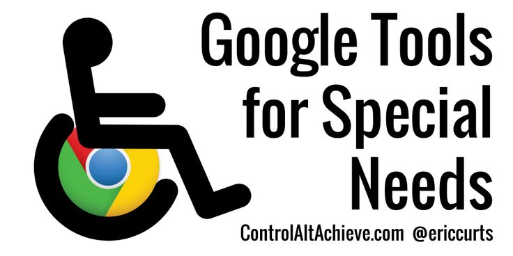 Technology can be a powerful tool to assist students with special needs or any sort of learning challenge. In particular the Chrome web brow...
