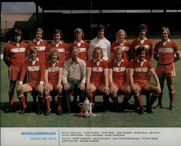 1974-1975 includes David Armstrong and Graeme Souness