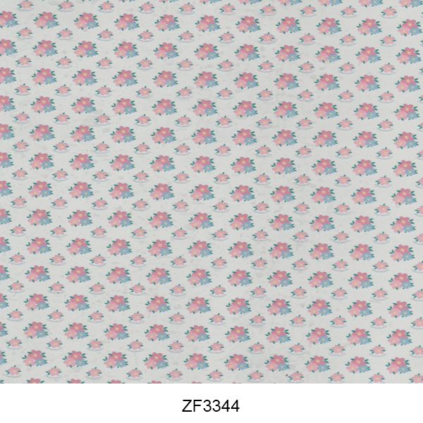 Hydro printing film flower pattern ZF3344
