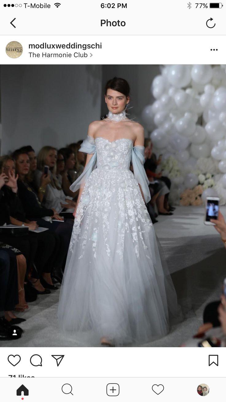 71 best Wedding Dresses images on Pinterest | Wedding bridesmaid ...
