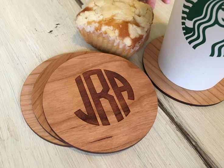 Personalized Coasters, Custom Coasters, Monogram Coasters, Initial Coasters, Wood Coasters, Gift for Women, Gift for Her, Couples Gift by AllAboutImpressions on Etsy https://www.etsy.com/listing/471625984/personalized-coasters-custom-coasters