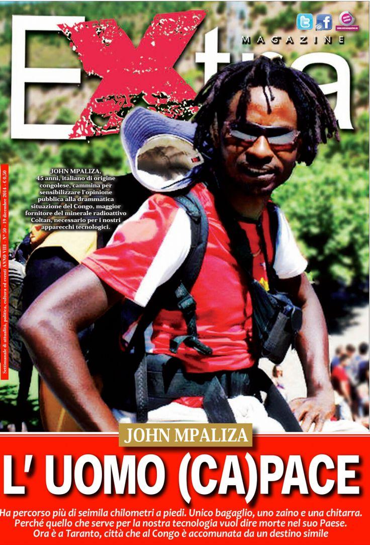 Intervista a John Mpaliza