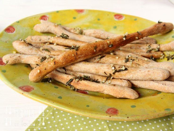 Pizzastangerl mit (Bärlauch-)-Pesto - Freude am Kochen