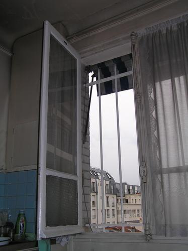 Je+suis+dans+ma+cuisine,+à+travailler+sur+l`ordinateur,+tout+en+surveillant+un+prochain+dîner.+J`ai+un+peu+froid+mais+ne+veux+pas+fermer+la+fenêtre.+Ce+n`est+pourtant+pas+le+soleil+qui+y+donne,+le+temps+est+au+gris+et+nous+sommes+au+bord+du+soir+(1),+or+il+ne+donne+ici+qu`au+matin.+Je+continue+mon+travail,+passablement+concentrée. <BR> <BR>Et+puis+d`un+coup,+alors+que+je+me+lève+pour+une+tasse+de+thé,+je+comprends+:+dans+la+ruelle+derri&egr...